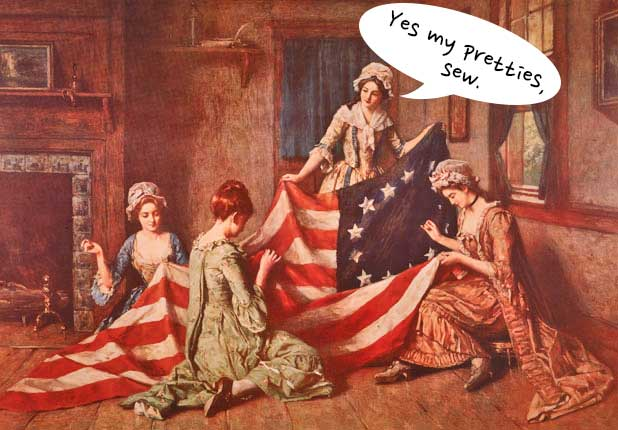The Creation Myth of the American Flag