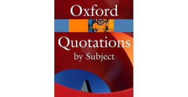 Oxford Quotations by Subject Buzzkill Bookshelf